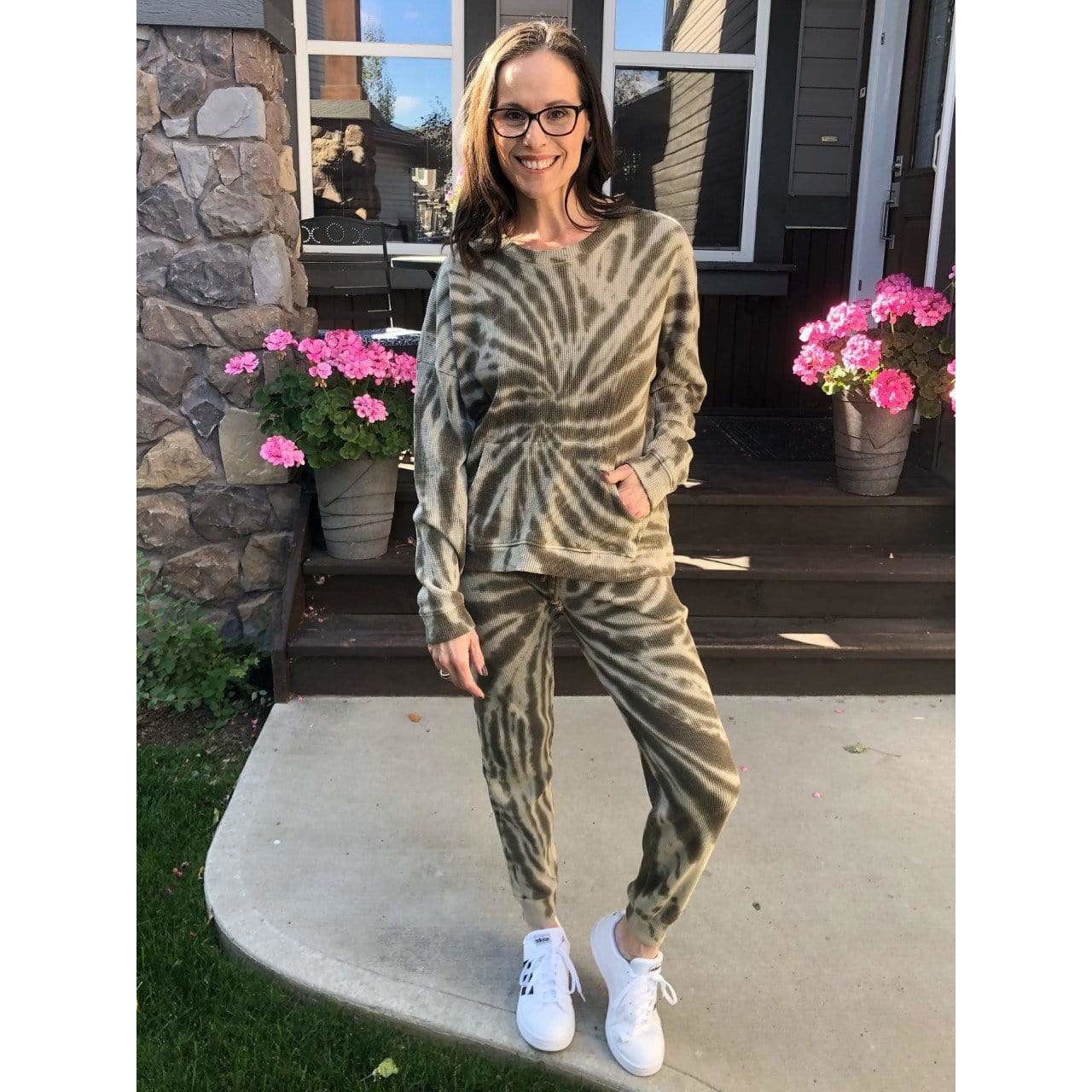 RD Tie Dye Oversize KangarooTop Loungewear Set + more colours
