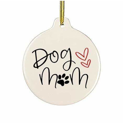 Sock Dirty To Me WHITE / N/S Dog Mom Tree Ornament