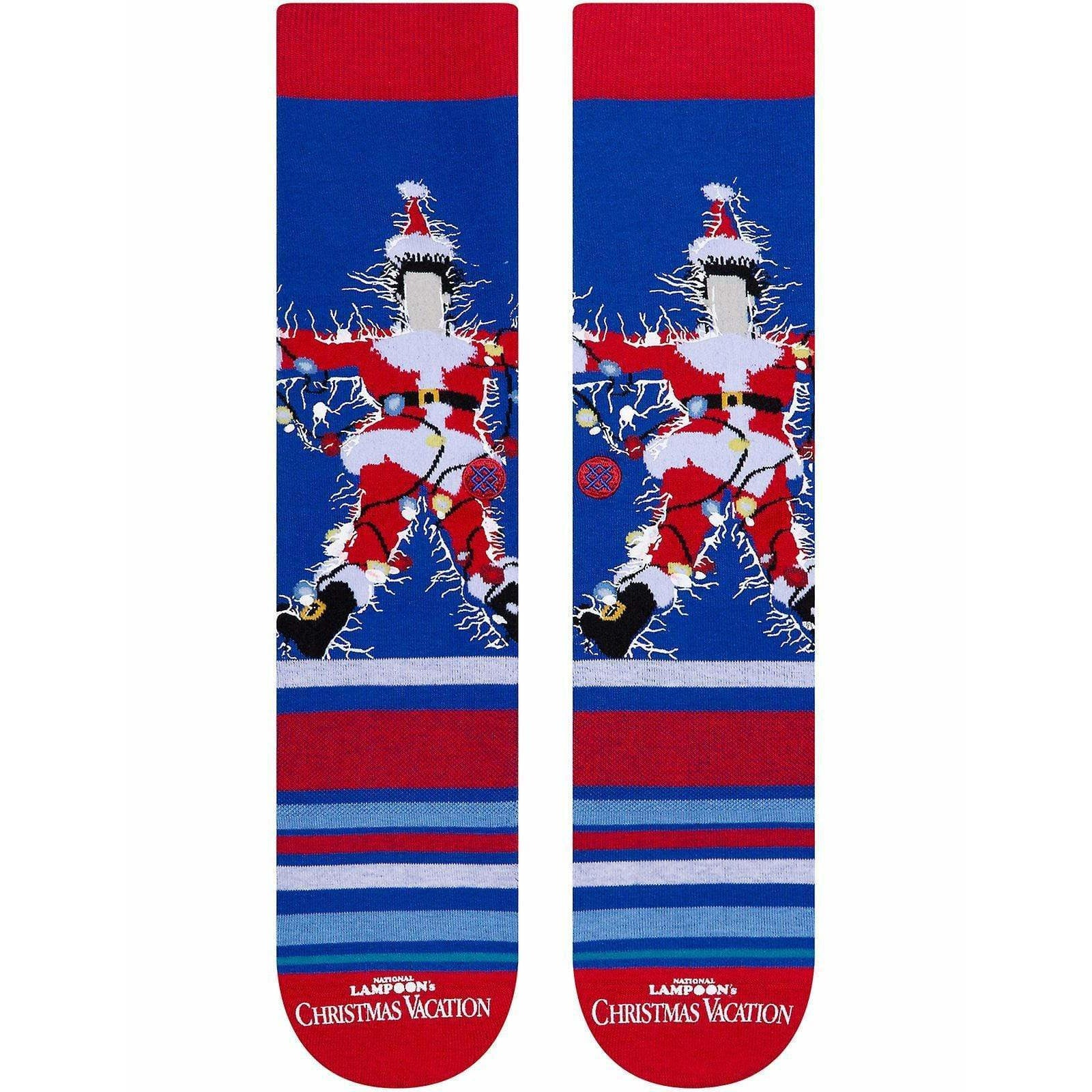 Stance BLUE / L Stance Christmas Vacation Socks