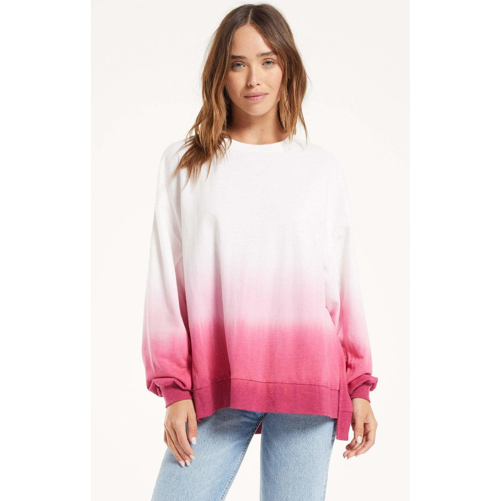 Z SUPPLY MAGENTA / XS Z Supply Modern Dip Dye Weekender + more colours