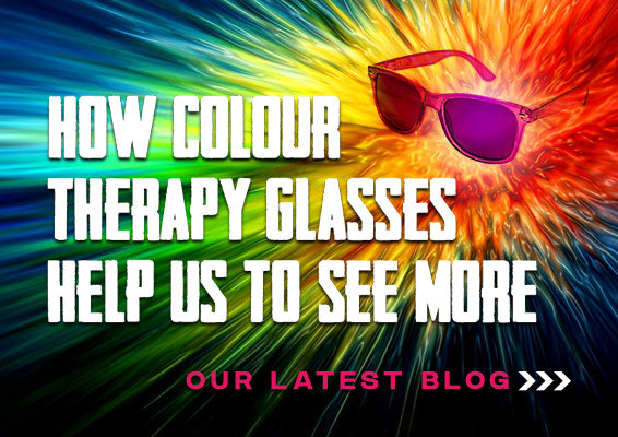 How colour therapy glasses help us to see more