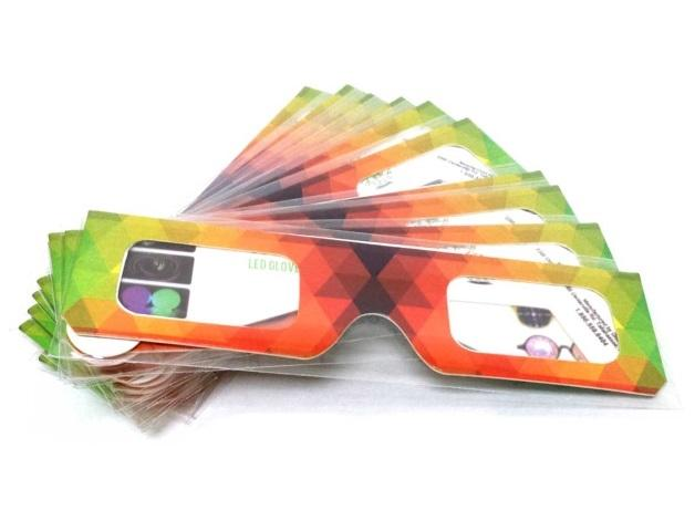 Paper Diffraction Glasses