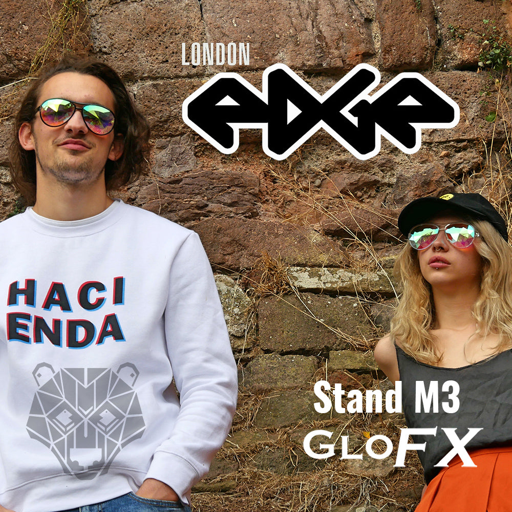 THE RAVE CAVE AT LONDONEDGE 2019 WITH GLOFX