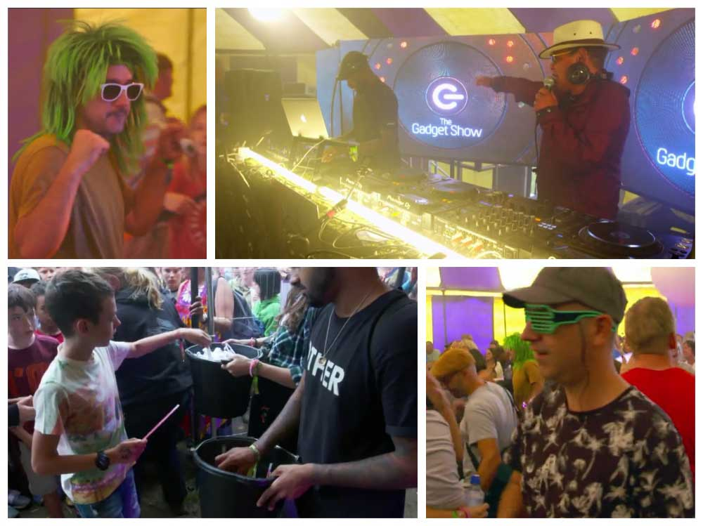 The Gadget Show Highlights showing a great day at the festival