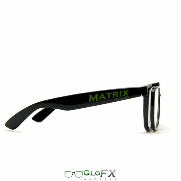 GloFX Matrix Diffraction Glasses - Black