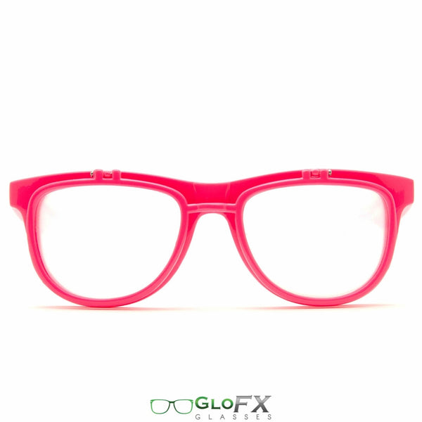 GloFX Matrix Diffraction Glasses - Pink
