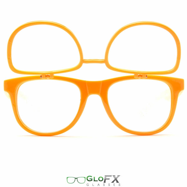 GloFX Matrix Diffraction Glasses - Orange