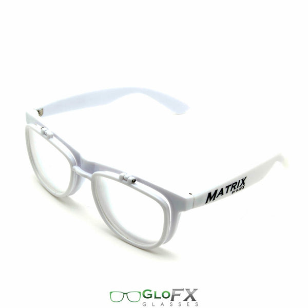 GloFX Matrix Diffraction Glasses - White