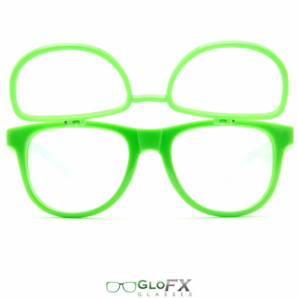 GloFX Matrix Diffraction Glasses - Green