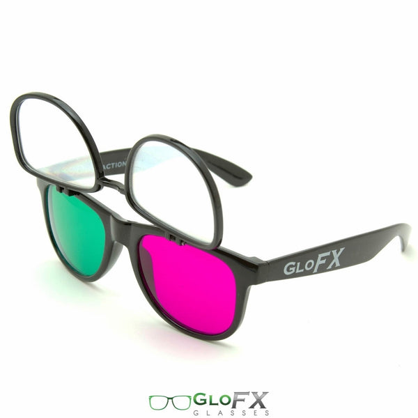 GloFX 3Diffraction Glasses - Black