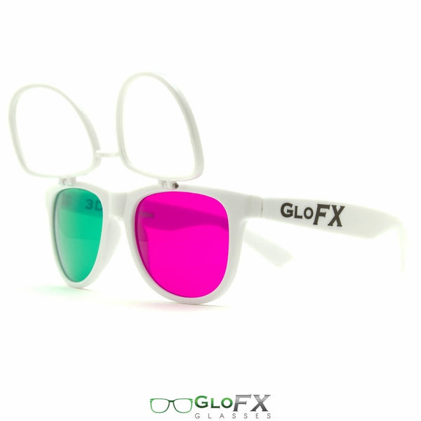 GloFX 3Diffraction Glasses - White