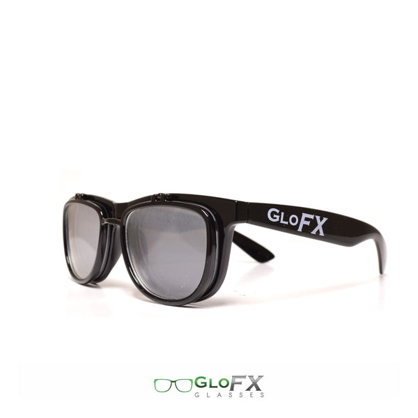 GloFX Diffraction Flip Sunglasses - Black