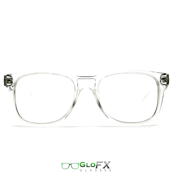 GloFX Ultimate Diffraction Glasses - Clear - Clear