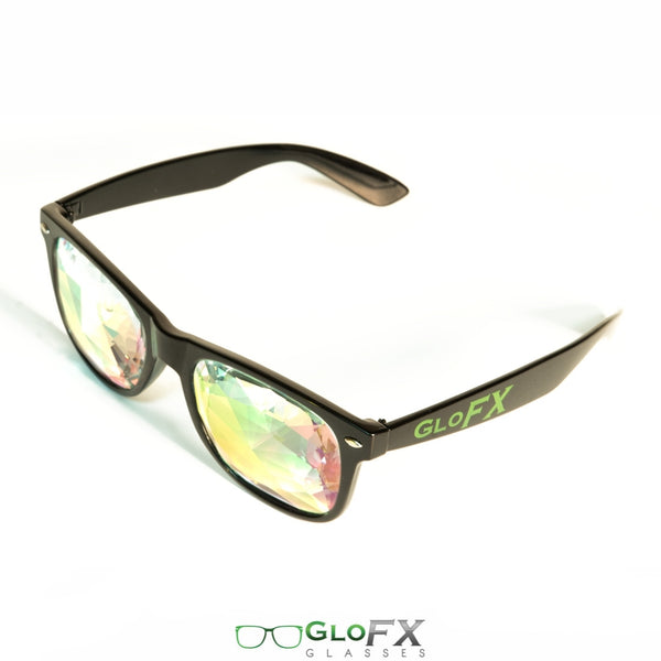 GloFX Ultimate Kaleidoscope Glasses - Black