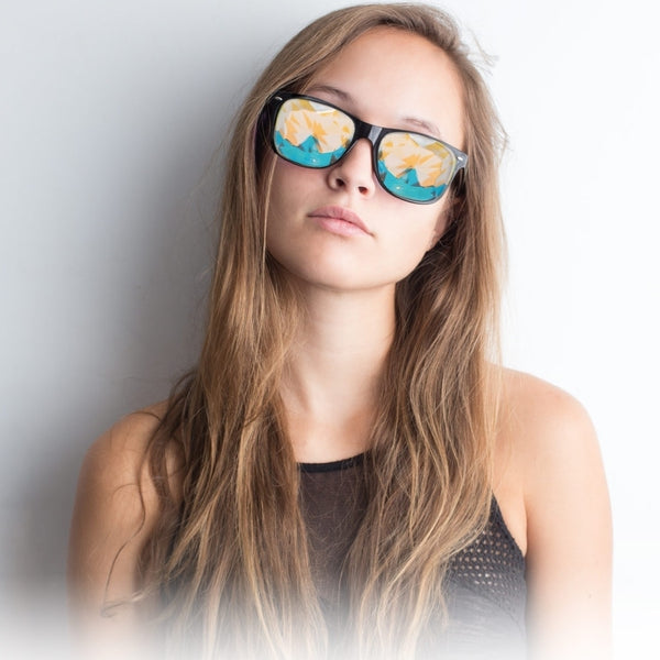 GloFX Ultimate Kaleidoscope Glasses - Clear