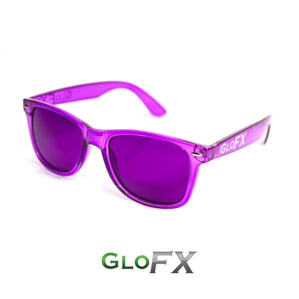 GloFX Colour Therapy Glasses - Violet