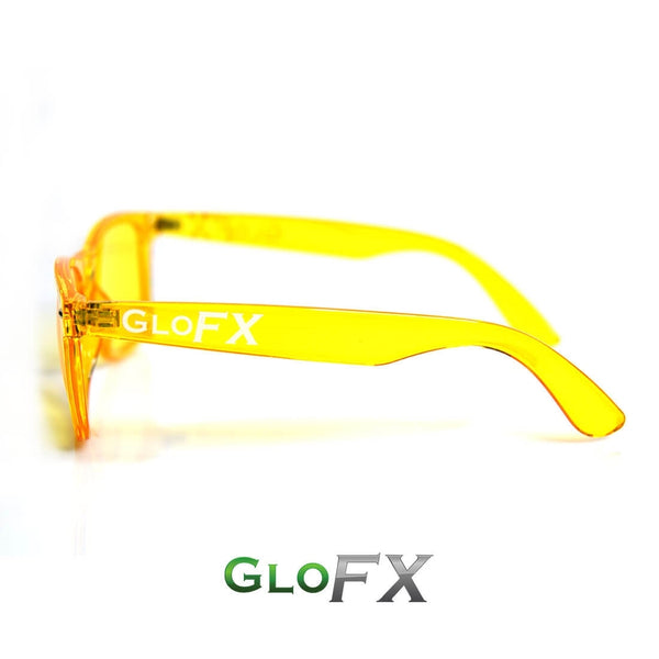 GloFX Colour Therapy Glasses - Yellow