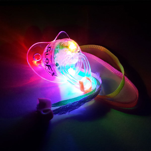 GloFX LED Dummy Pacifier