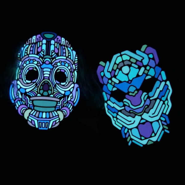 Outline Wildcat Sound Reactive LED Mask