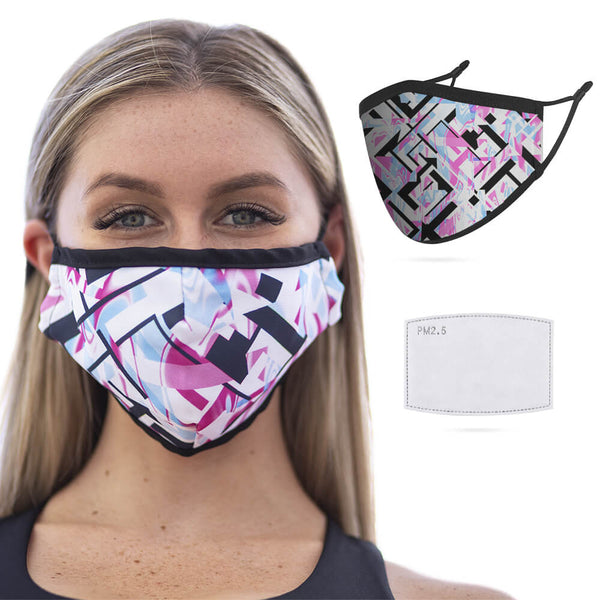 Reusable Face Masks - Ice Prism