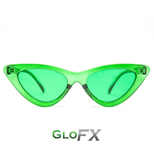 GloFX Cat Eye Colour Therapy Glasses - 5 Pack