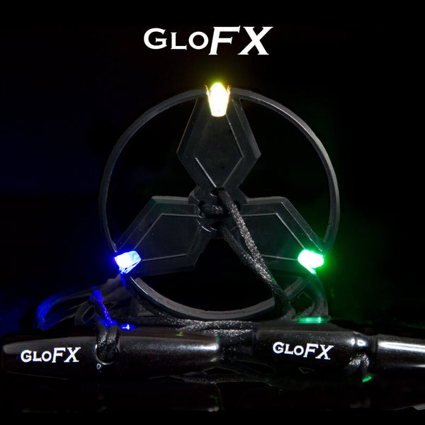GloFX 3-LED Ion Orbit - Clear