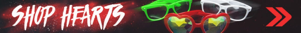 GloFX Heart Diffraction Glasses