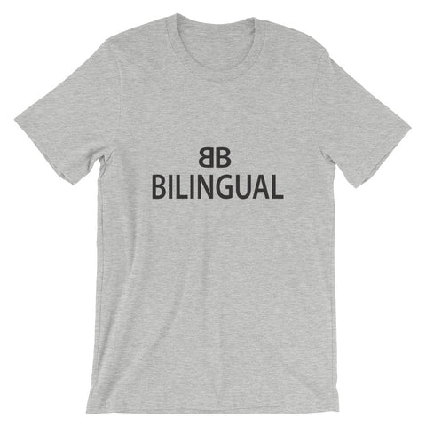 Bilingual Short-Sleeve Unisex T-Shirt