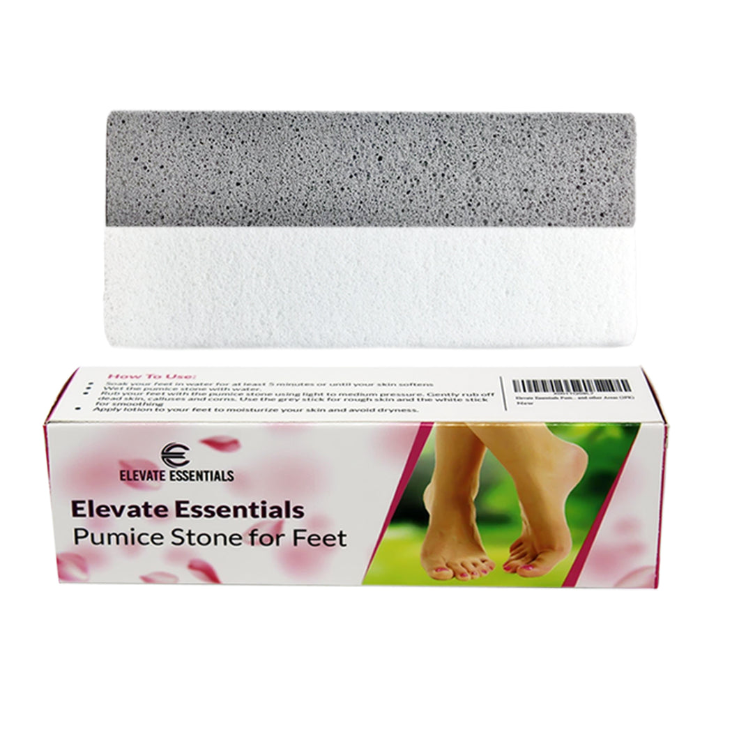 Elevate Essentials Pumice Stone for Feet (2Sticks)