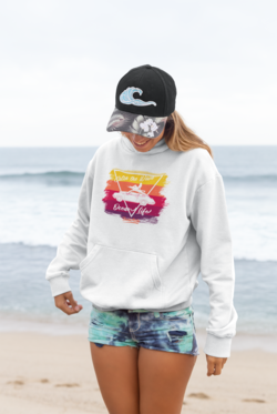 Beard Motors Hoodie 911 Surf Catch the Wave - beardmotors