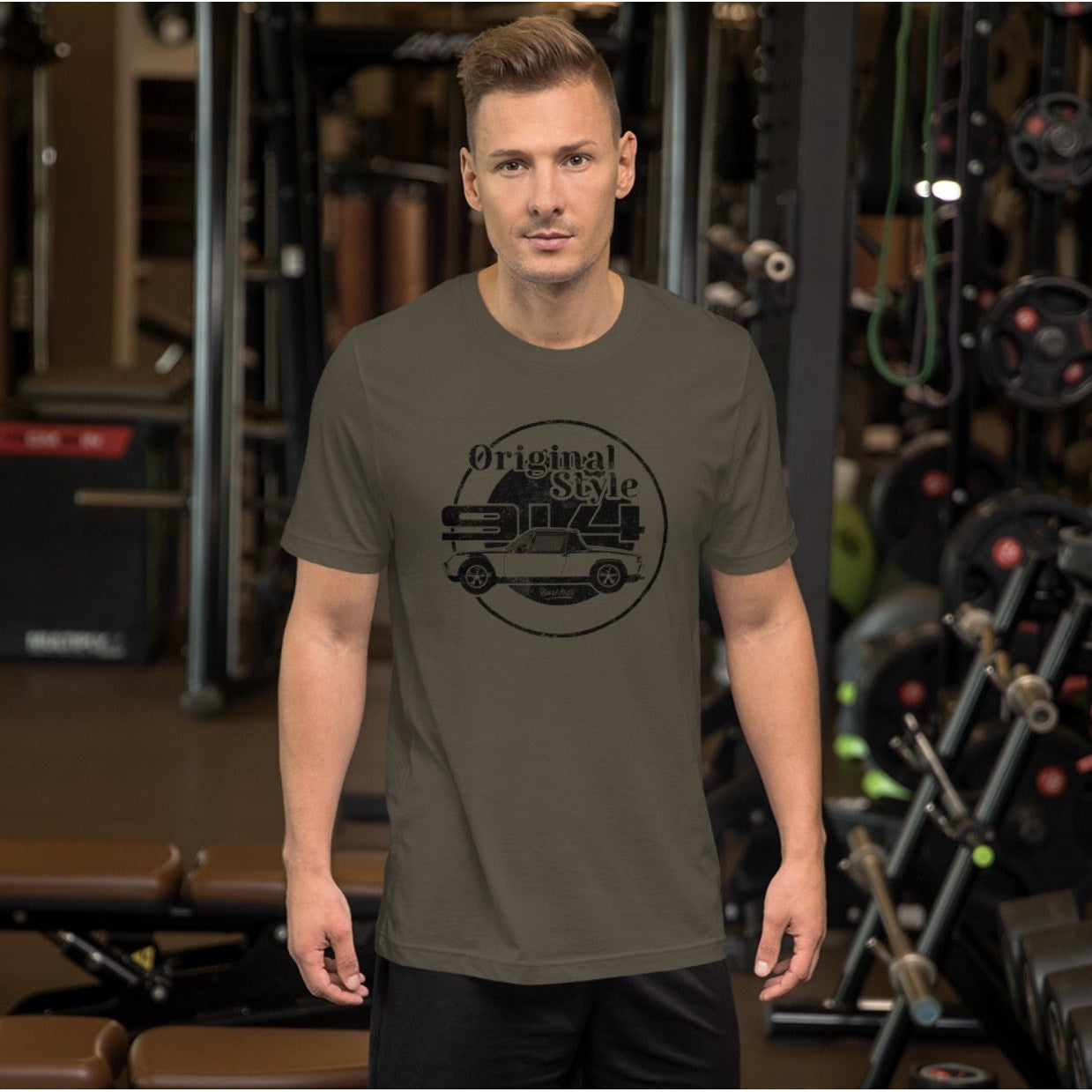 Beard Motors T-Shirt Army 914 Original Style - beardmotors