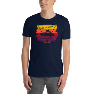 Beard Motors T-Shirt Catch the Wave 911 Surf Bahama  / Navy Blue - Beard Motors