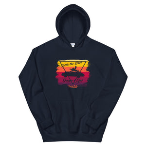 Beard Motors 911 Surf Catch the Wave Hoodie Navy Bahama - Beard Motors
