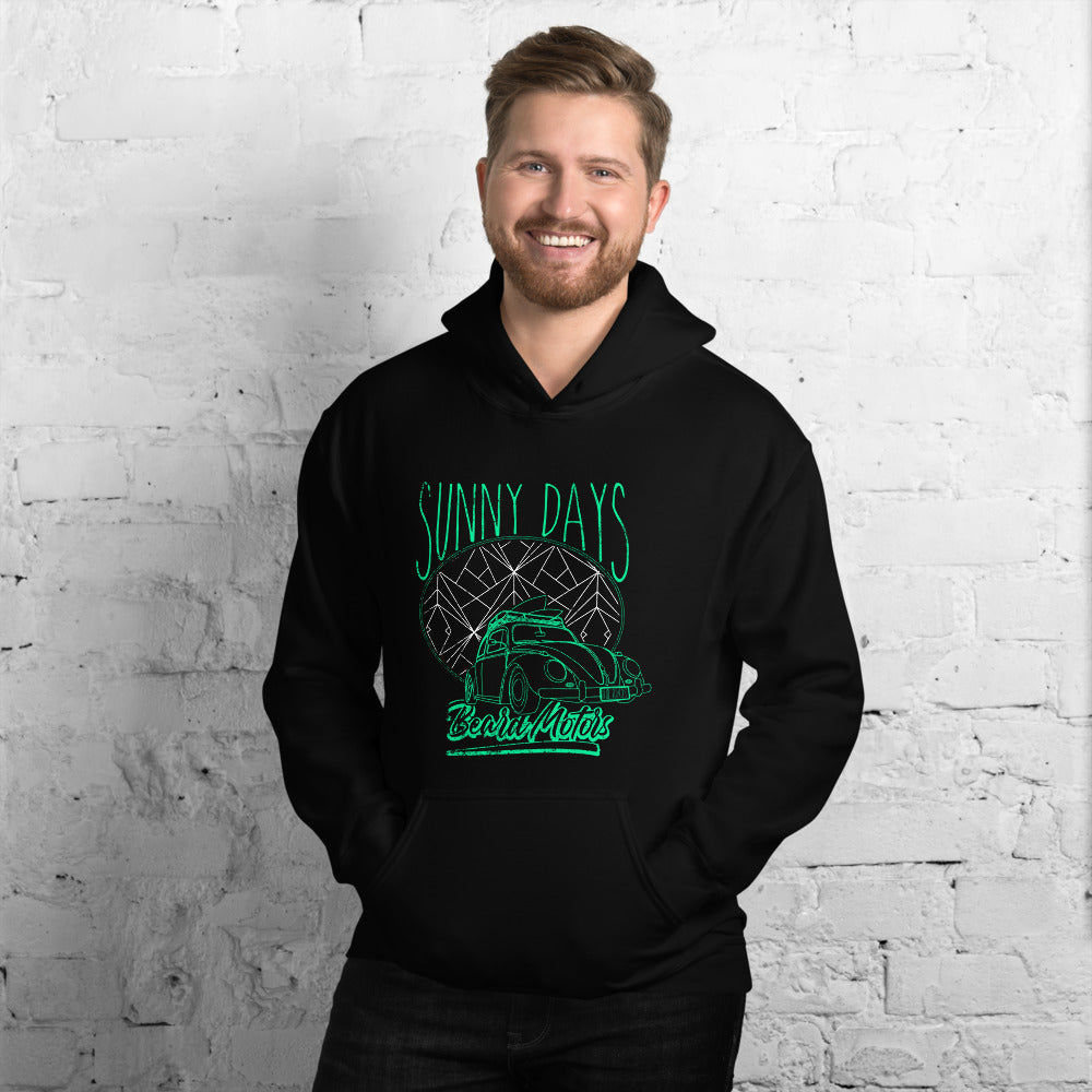 Beard Motors Hoodie Beetle Sunny Days - beardmotors