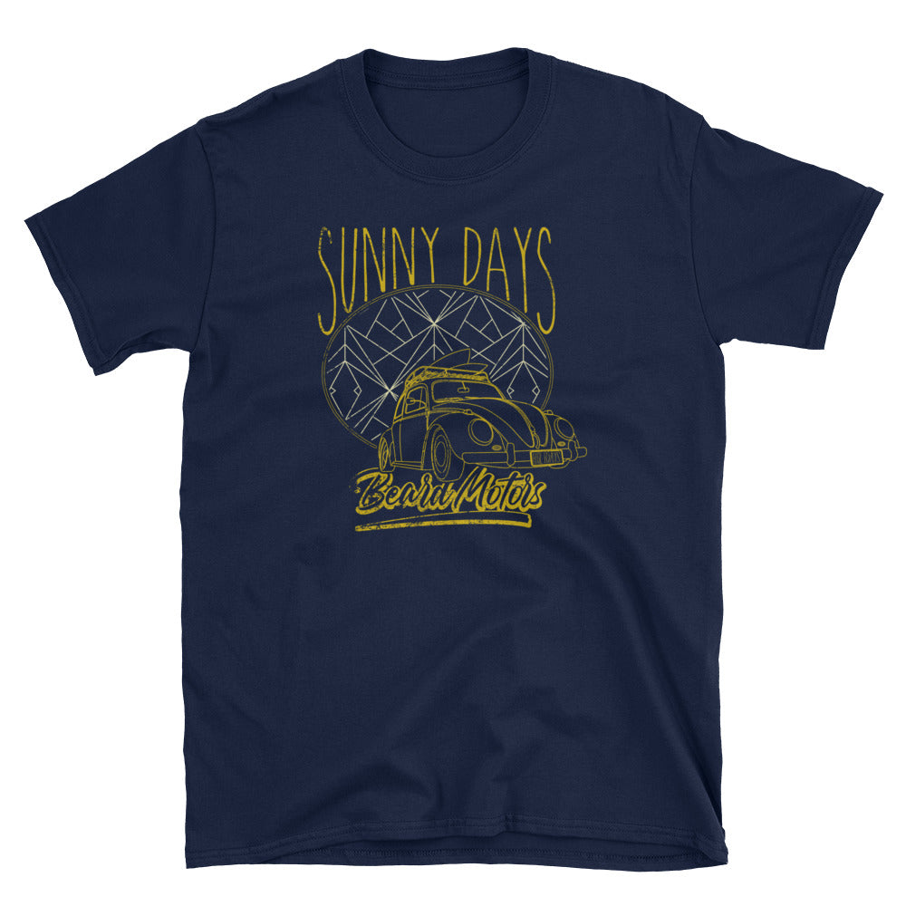 T-Shirt SUNNY DAYS Bahama Bug / Navy - beardmotors
