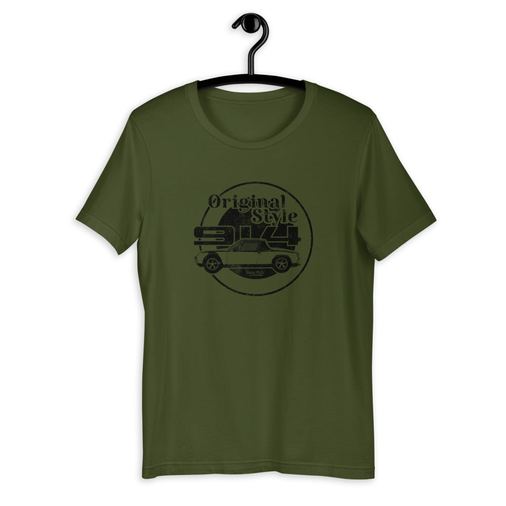 Beard Motors T-Shirt 914 Original Style Olive - beardmotors