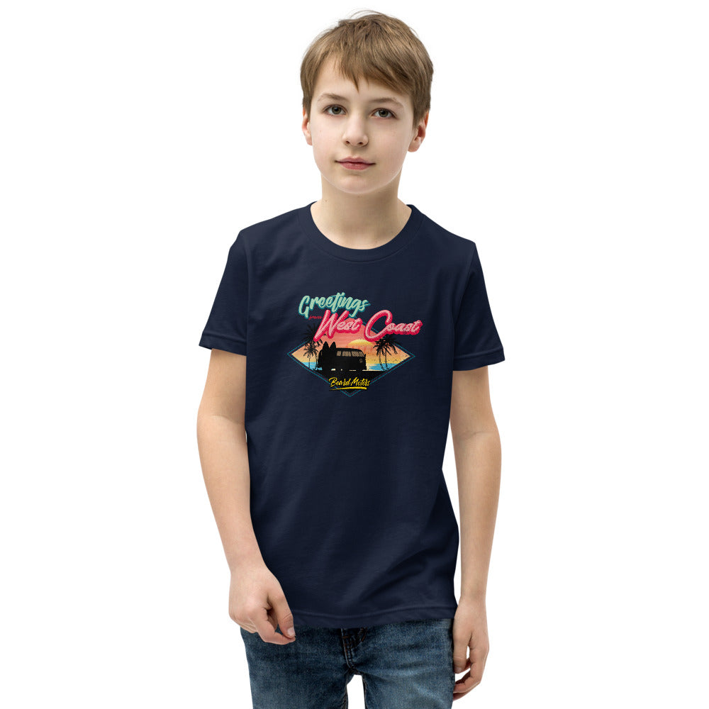 Beard Motors West Coast Youth T-Shirt enfant Split Bus - beardmotors