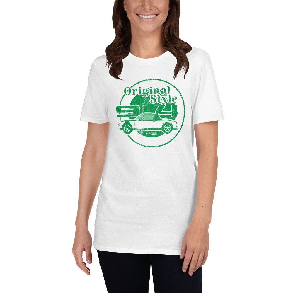 Beard Motors T-Shirt white 914 Original Style - Beard Motors
