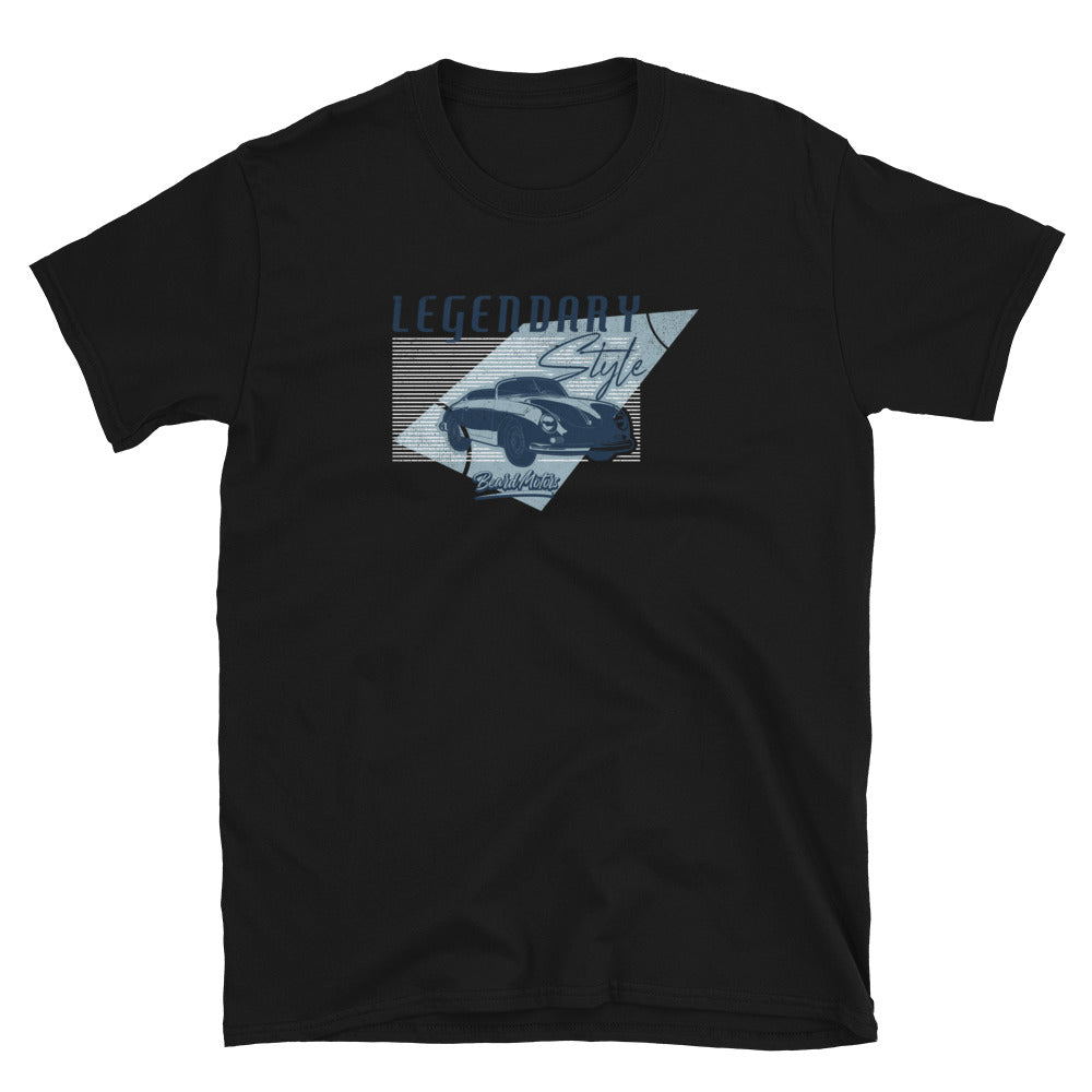 Beard Motors 356 LEGENDARY Style T-Shirt black - beardmotors