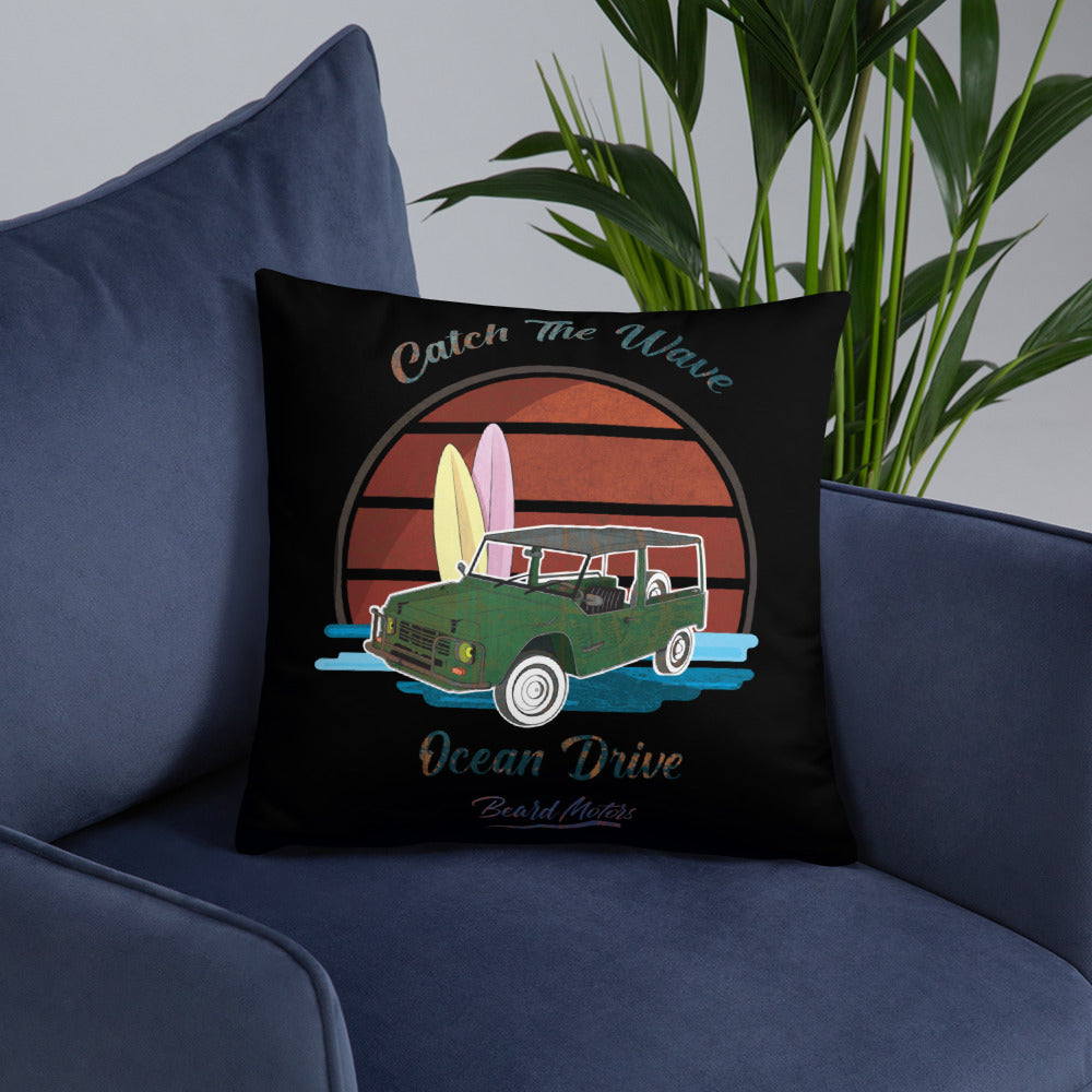 Beard Motors Coussin Pillow Mehari Ocean Drive - beardmotors