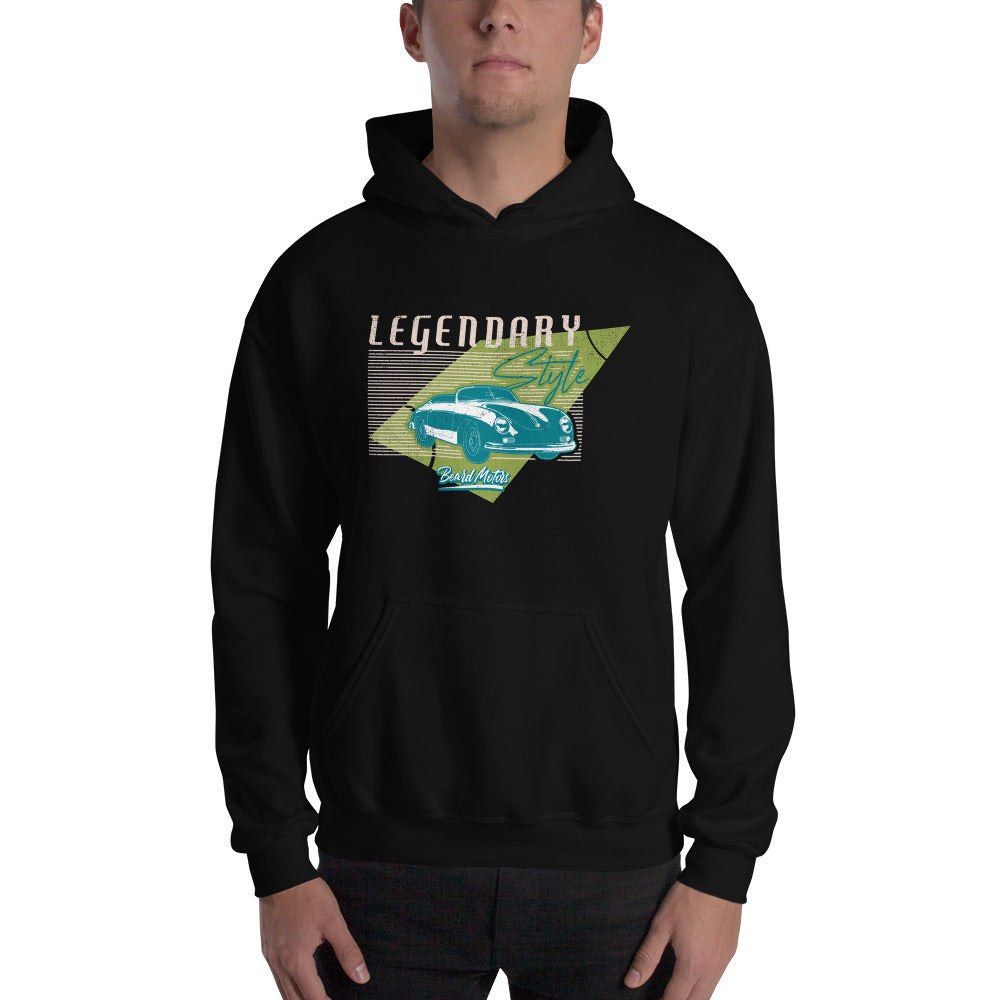 Beard Motors Hoodie sweat capuche 356 Legendary Style - beardmotors