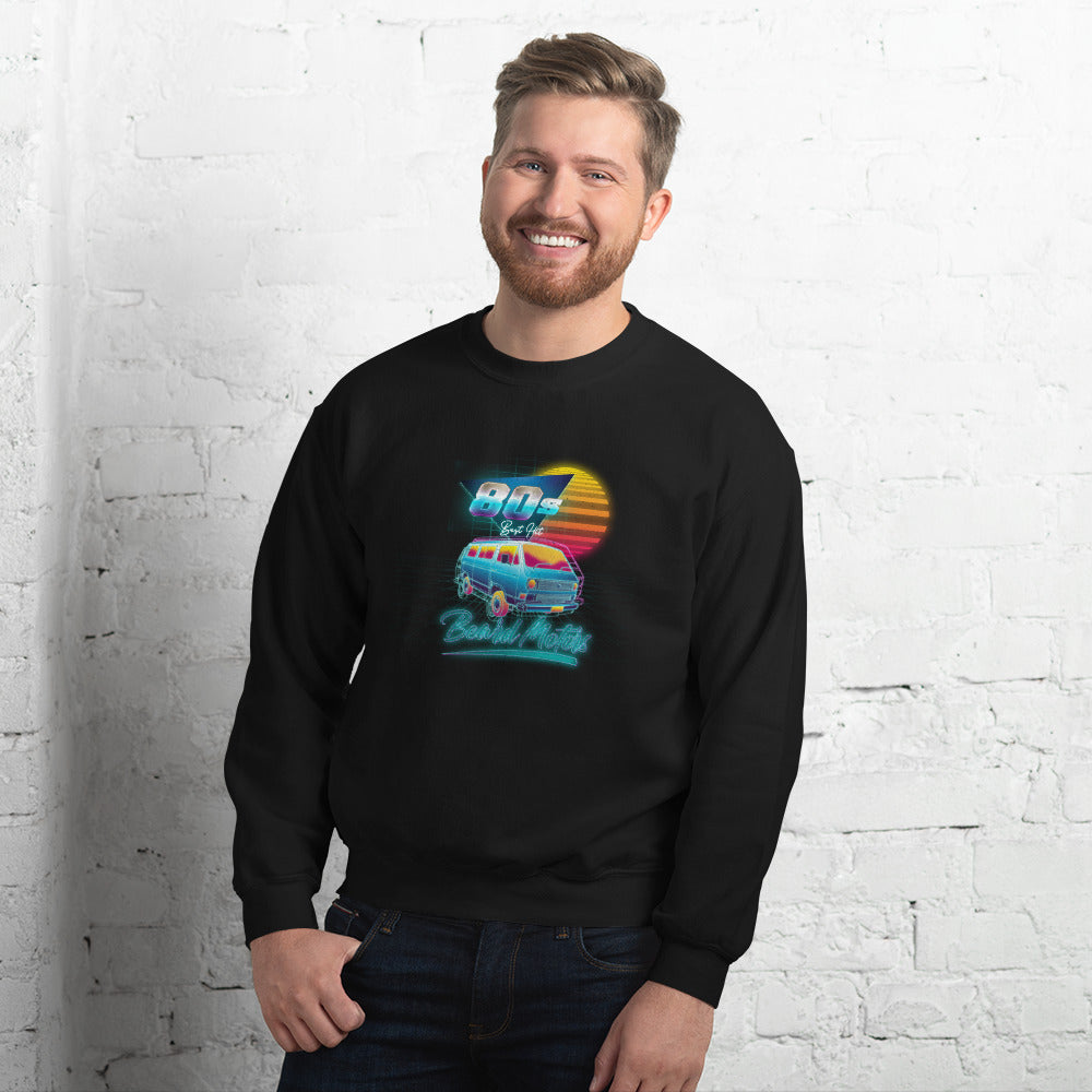 Beard Motors Sweatshirt 80s Best Hit T3 - Beard Motors