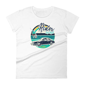 Beard Motors Women's fit t-shirt 911 Skateboard Rider Lifestyle - beardmotors