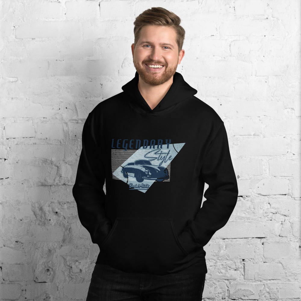 Beard Motors 356 LEGENDARY Style Hoodie black - beardmotors