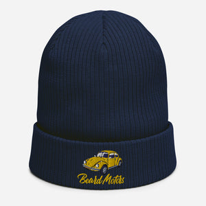 Beard Motors VW Beetle Organic ribbed beanie bonnet - beardmotors
