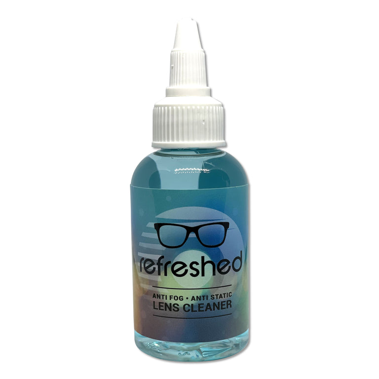 Anti-Fog, Anti-Static, Cleaner: 2oz Spray Bottle / 2oz Bottle with Dropper Top: Great on smaller surfaces and device