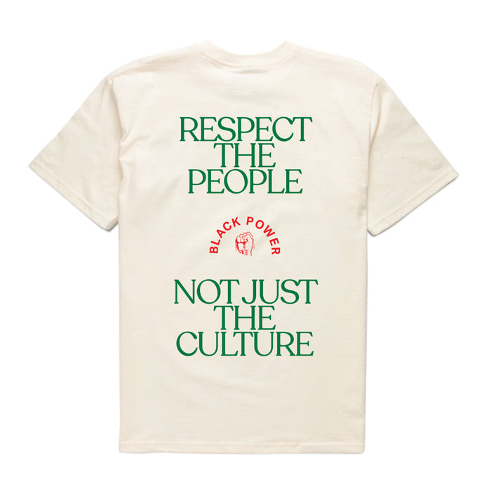respect the people who create the culture you love