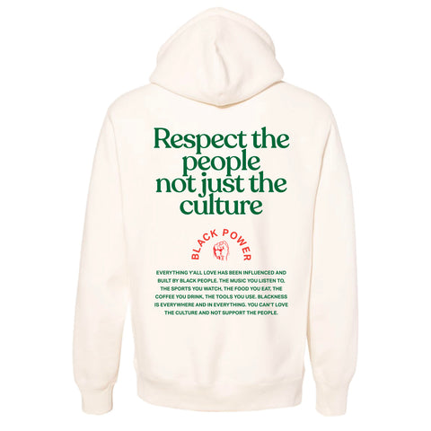 Respect the people 2 HOODIE