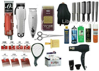 Liberty Supply Advanced Barber Beauty Cosmetology School Student Kit Clippers Trimmers Shavers Razor - Liberty Beauty Supply