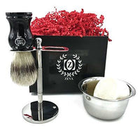"Mens Straight Razor Traditional Wet Shave Grooming Kit 5/8"" Carbon Steel hollow - Liberty Beauty Supply"